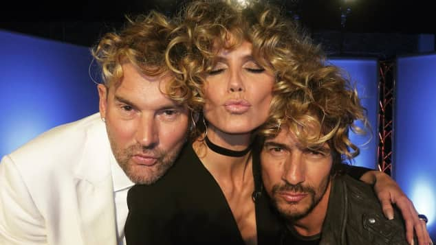Michael Michalsky, Heidi Klum und Thomas Hayo  Germany's Next Topmodel