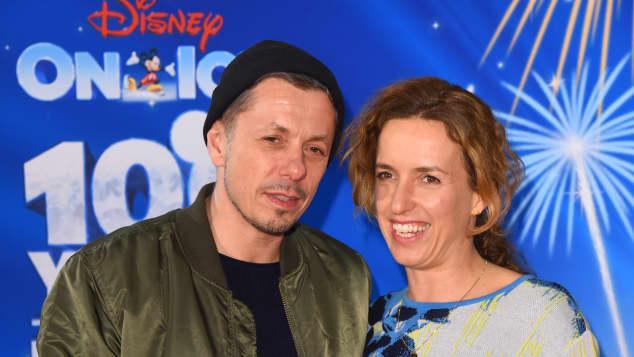 Michi Beck und seine hübsche Frau