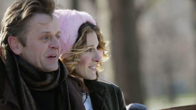 "Mikhail Baryshnikov und Sarah Jessica Parker in ""Sex and the City"""