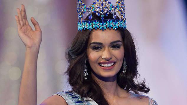 Miss World 2017 Manushi Chhilar Indien