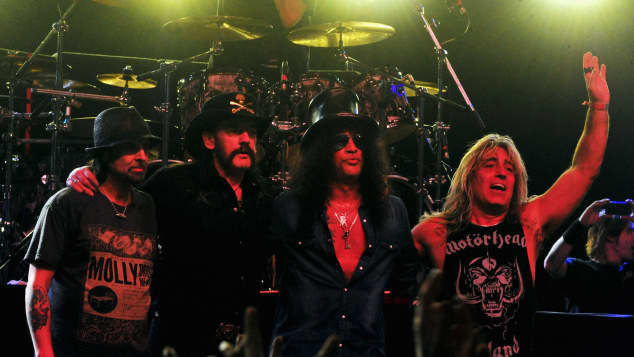"Die Band Motörhead auf dem ""Coachello""-Festival"
