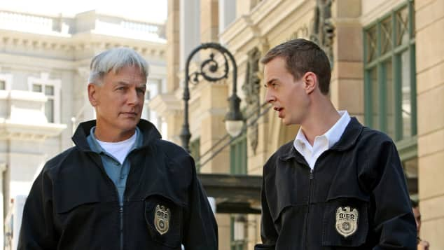 NCIS Mark Harmon Sean Murray Gibbs McGee