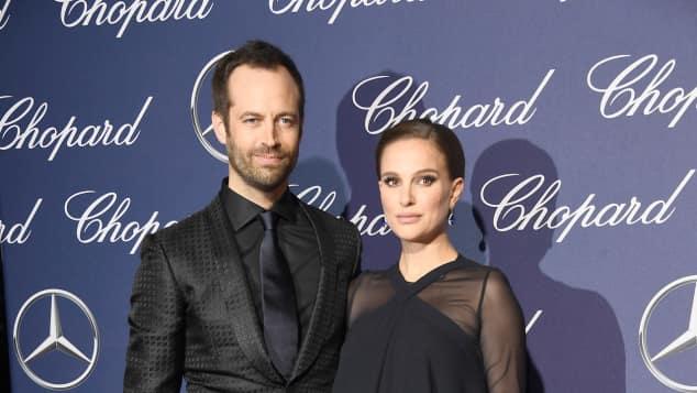 Benjamin Millepied und Natalie Portman bei einer Veranstaltung im Jahr 2017