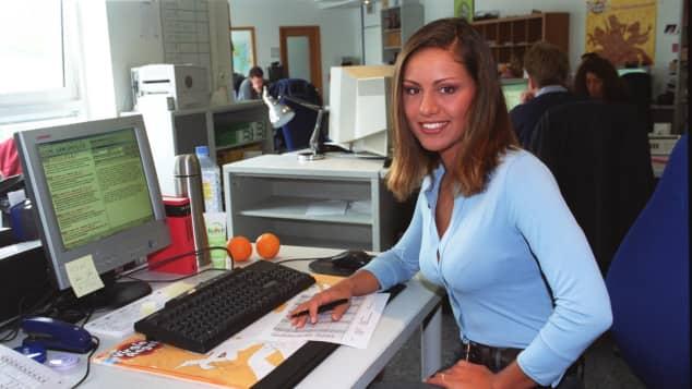 Nazan Eckes am Anfang ihrer Karriere 2002
