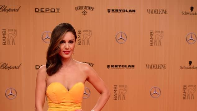 Nazan Eckes bei der Bambi-Verleihung 2015