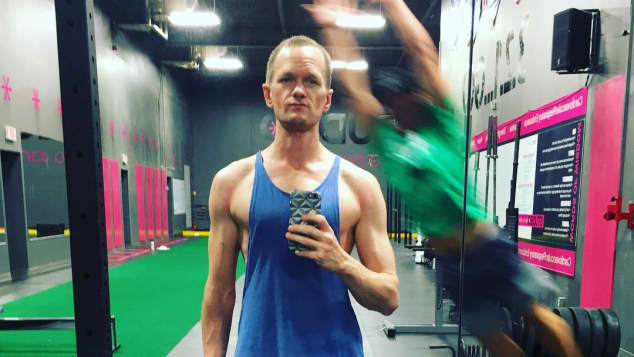 Neil Patrick Harris im Fitnessstudio