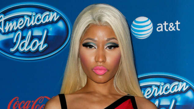Make-Up-Fail bei Nicki Minaj