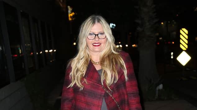 Nicole Eggert in Los Angeles