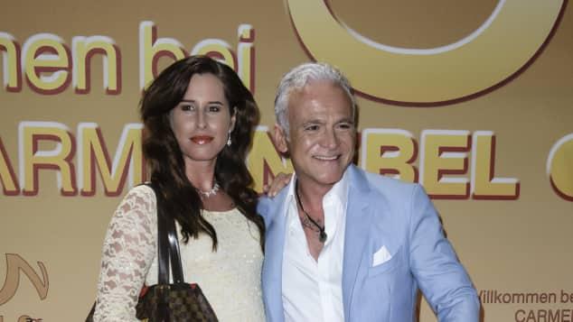 Nino de Angelo mit Ehefrau Larissa Schmitt