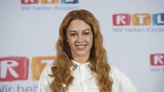 Oana Nechiti beim RTL Spendenmarathon im Jahr 2017