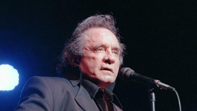 Johnny Cash in 1977