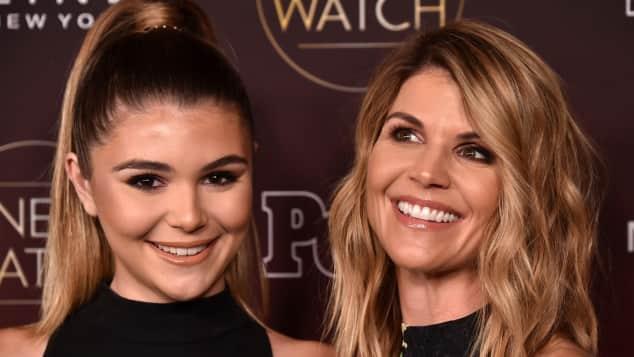 Olivia Jade and Lori Loughlin