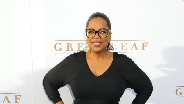 Oprah Winfrey ist heute ein paar Kilos leichter