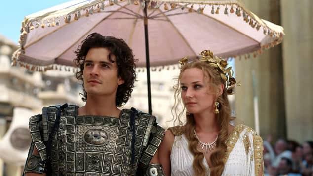 """Orlando Bloom und Diane Kruger im Film """"Troja"""""""