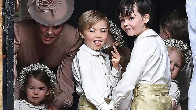 Pippa Hochzeit Page Boy frech cool