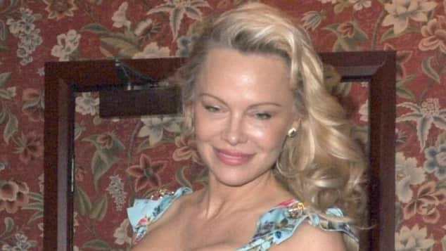 Pamela Anderson ohne Make-up