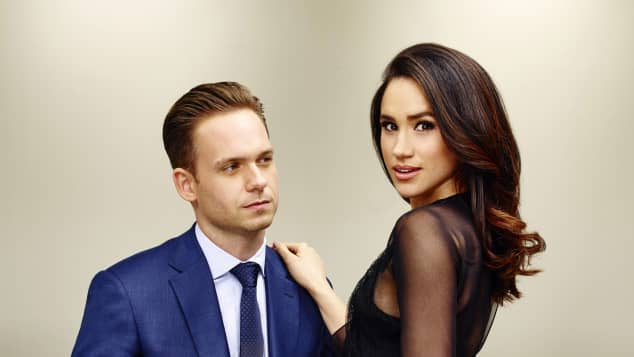 "Patrick J. Adams und Herzogin Meghan in ""Suits"""