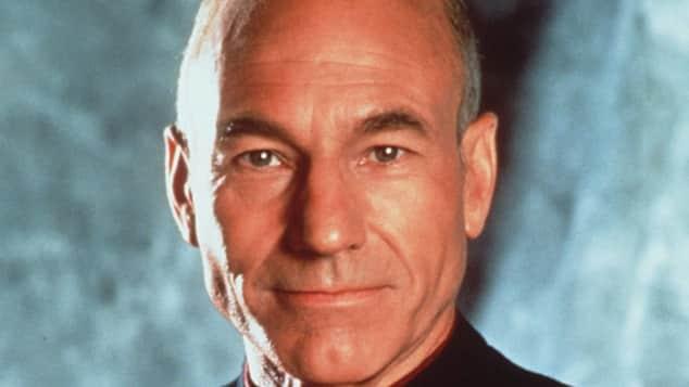 """Patrick Stewart """"Raumschiff Enterprise"""""""
