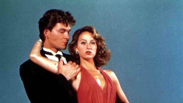 "Patrick Swayze Jennifer Grey ""Dirty Dancing"""