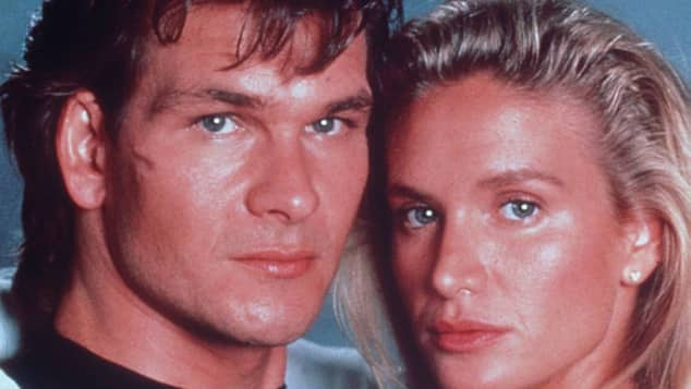 "Patrick Swayze und Kelly Lynch in ""Road House"""