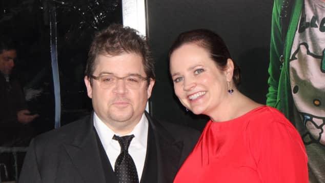 Patton Oswalt und Ehefrau Michelle im Jahr 2011