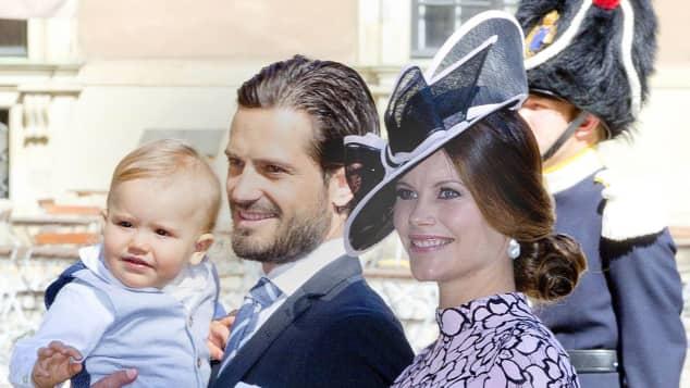 Prinz Carl Philip Prinzessin Sofia Babybauch