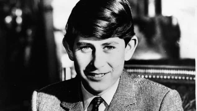 Der junge Prinz Charles