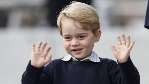 Prinz george zieht um