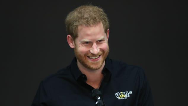 Prinz Harry in den Niederlanden im Mai 2019