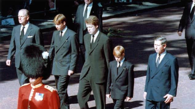 Beerdigung Lady Diana