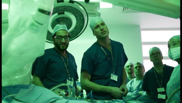 Prinz William, Herzog von Cambridge, Besuch Krankenhaus, London