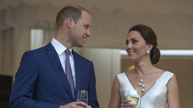 Prinz William Kate Polen