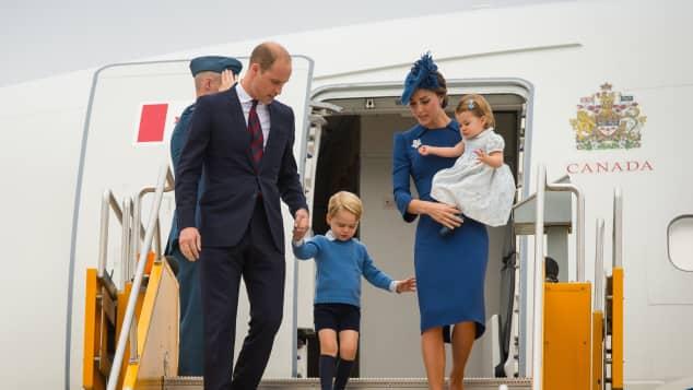 Prinz William und Herzogin Catherine besuchen mit ihren Kindern Kanada