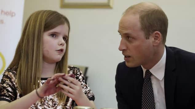 Prinz William Herz für Kinder Trauerfall Organisation