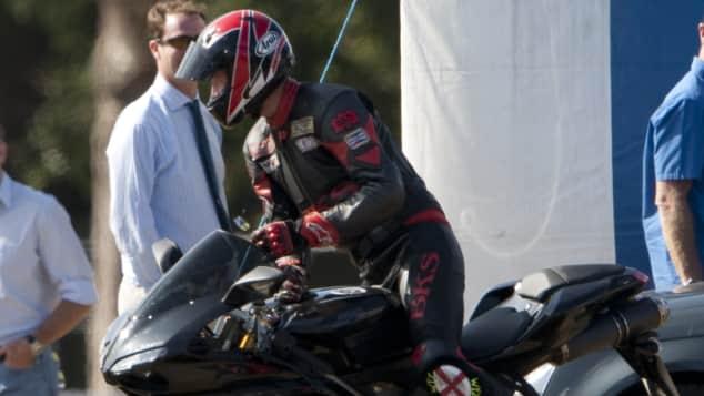 Prinz William britische Royals Hobby Motorradfahren gab für Kinder auf