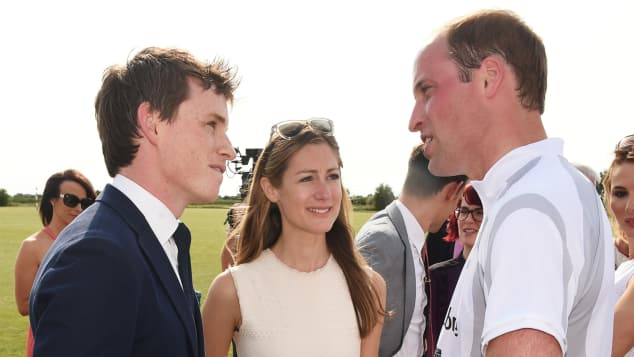 Prinz William Eddie Redmayne Polo Freunde