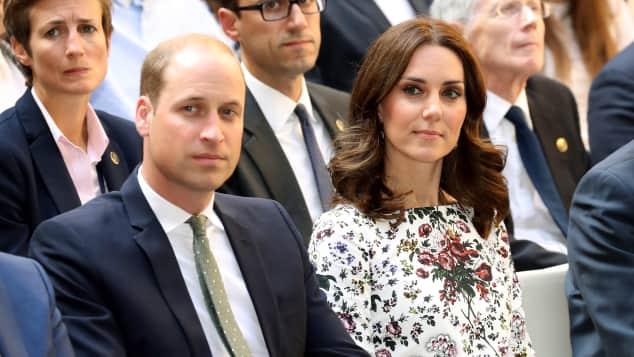 Prinz William Herzogin Kate Polen Danzig