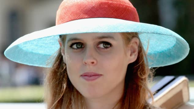 Princess Beatrice is famous for her choice of hats