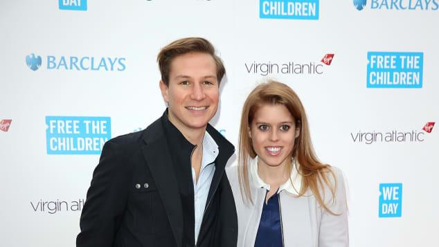 Princess Beatrice and her ex-boyfriend Dave Clark