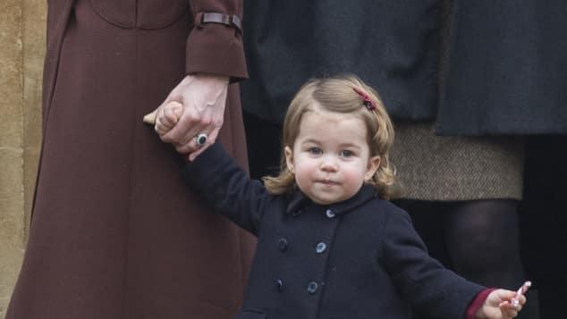 Prinzessin Charlotte im Dezember 2016