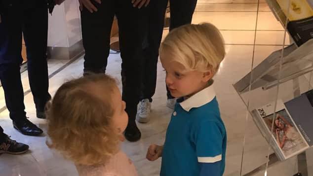 Prinzessin Gabriella Prinz Jacques von Monaco