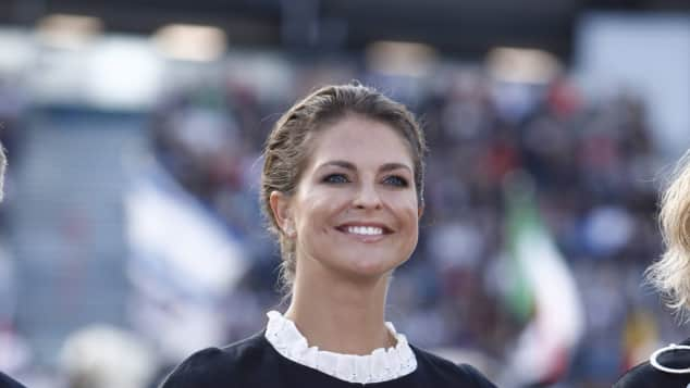 Prinzessin Madeleine Reit EM