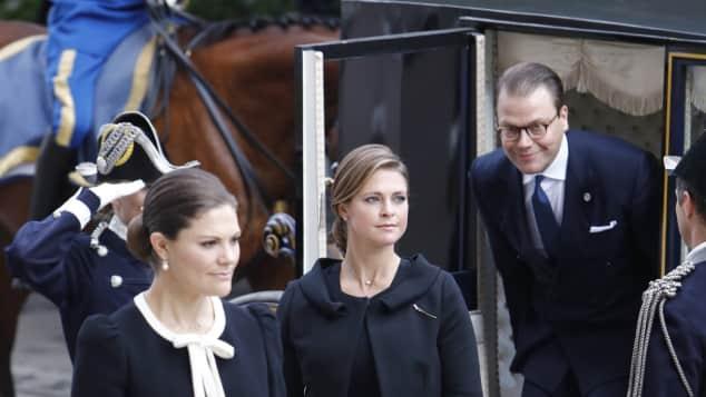 Schwedisches Königshaus Madeleine Victoria Daniel Babybauch
