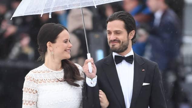 Prinz Carl Philip Prinzessin Sofia Babybauch Norwegen