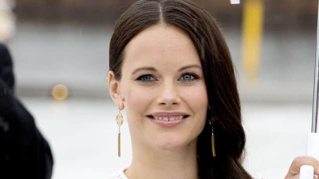 Prinzessin Sofia von Schweden Babybauch weißßes Kleid Norwegen Besuch
