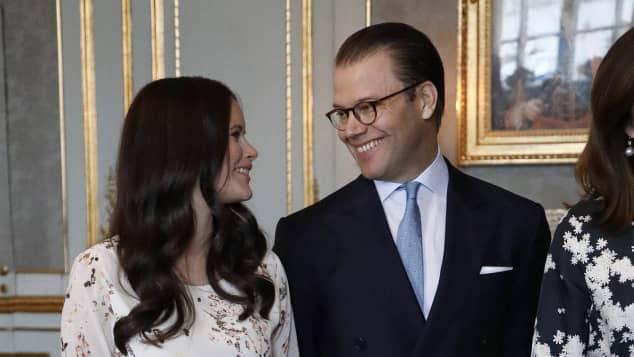 Besuch Schweden Dänemark Royals Prinzessin Sofia Babybauch