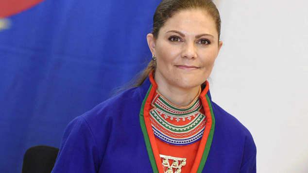 Victoria Schweden Tracht Sami Parlament