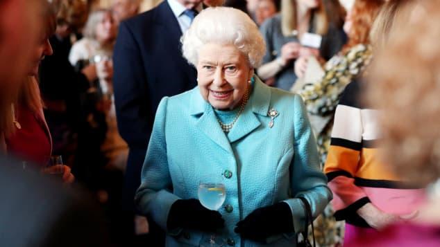 Queen Elizabeth II at an event