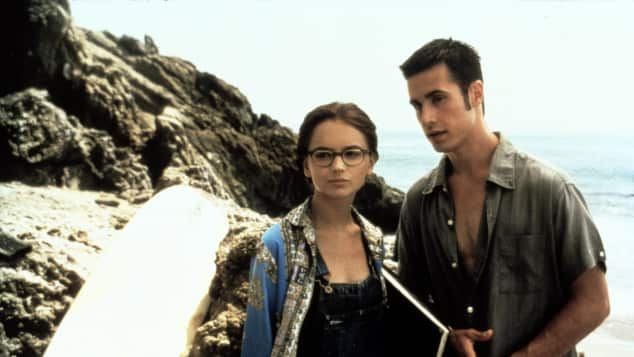 """Rachael Leigh Cook and Freddie Prinz Jr. in """"She's All That"""""""