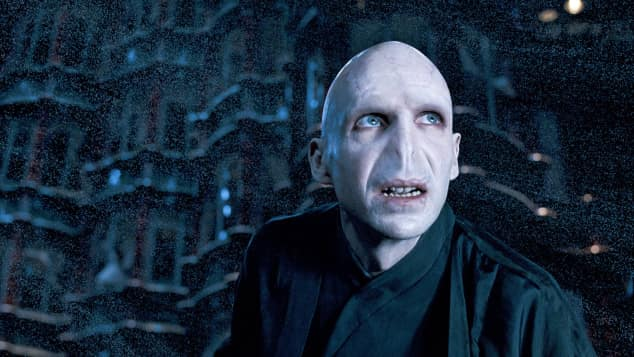 "Ralph Fiennes in ""Harry Potter"""